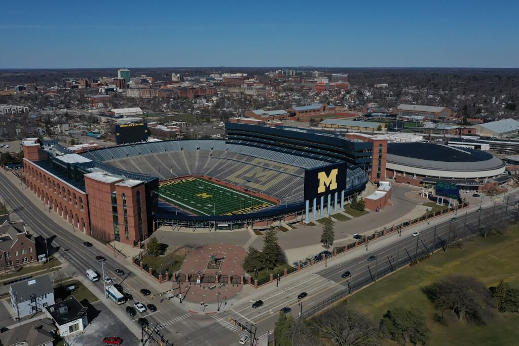 Michigan - The biggest stadiums in the US
